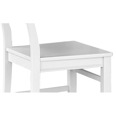 Loan for furniture Side Chair Finish: White...