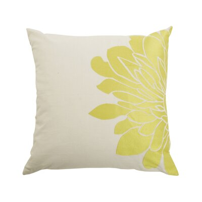 Abu Dhabi Gemini Pillow Color: Citron