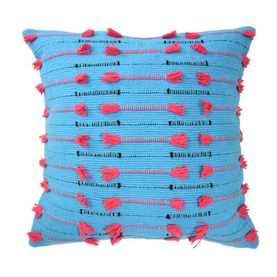 Mexico City Vivido Decorative Cotton Throw Pillow Color: Multi