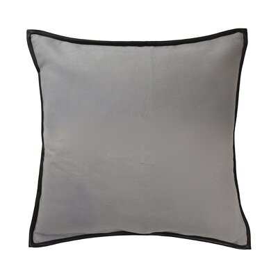 Mexico City Estevan Cotton Throw Pillow Color: Gray