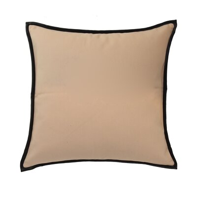 Mexico City Estevan Cotton Throw Pillow Color: Sand