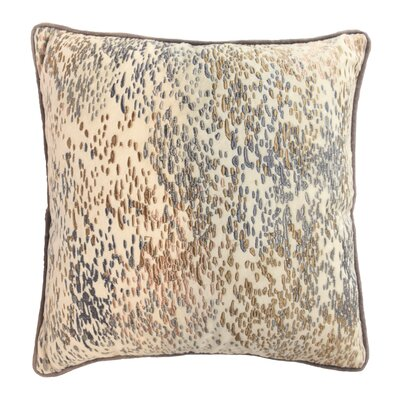 Mexico City Culturas Decorative Cotton Throw Pillow Color: Neutral