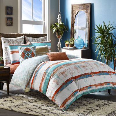 Mexico City Siesta 3 Piece Duvet Cover Set Size: King