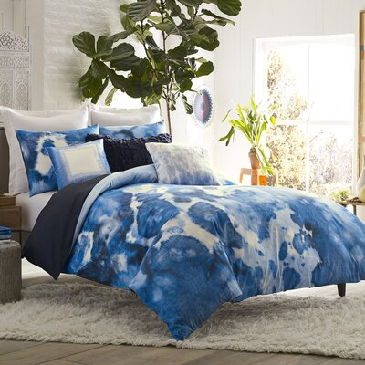 Mexico City Casa Azul 3 Piece Duvet Cover Set 14824BEDDQUEMUL