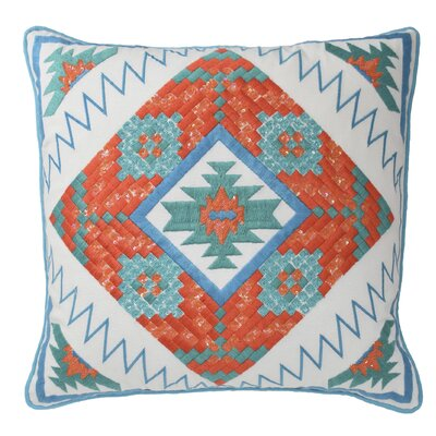 Fiesta Cotton Throw Pillow