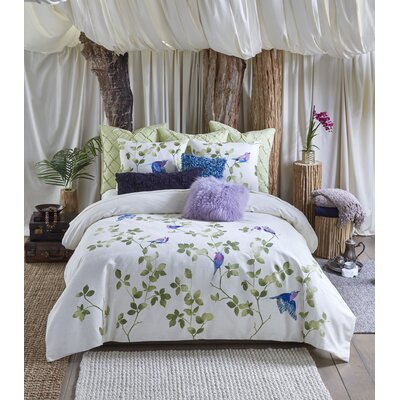 Tanzania Lemala 3 Piece Reversible Duvet Cover Set Size: Queen