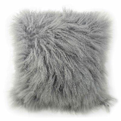 Tanzania Halima Decorative Throw Pillow Color: Gray