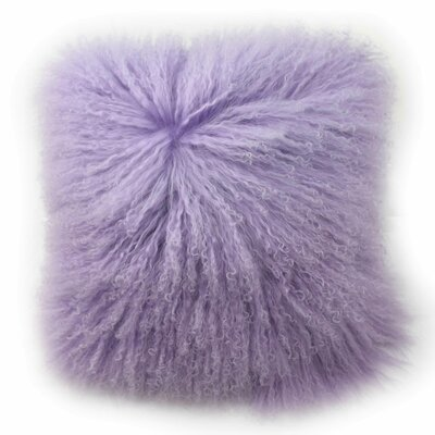 Tanzania Halima Decorative Throw Pillow Color: Lilac