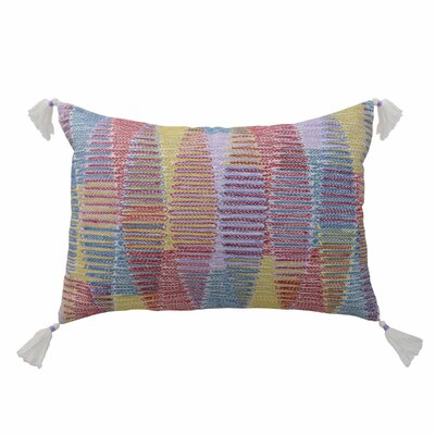 Tanzania Malika Decorative Embroidered Lumbar Pillow