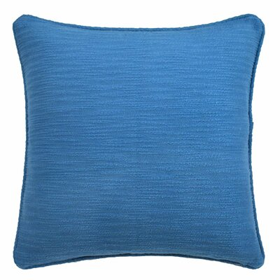 Yasmine Textured Throw Pillow Color: Moroccan Blue