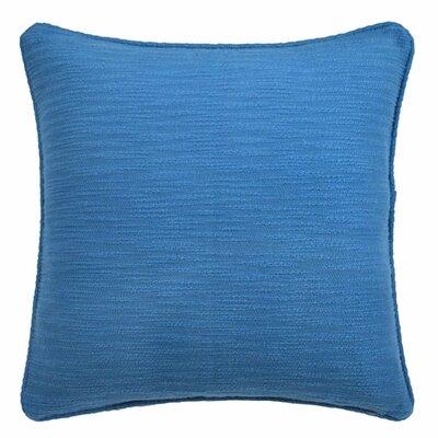 Yasmine Textured Throw Pillow Color: Moroccan Blue