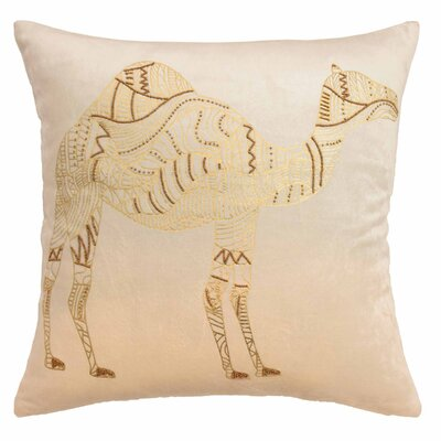 Sabrine Beaded Throw Pillow