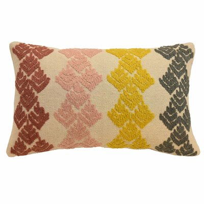 Dina Embellished Lumbar Pillow