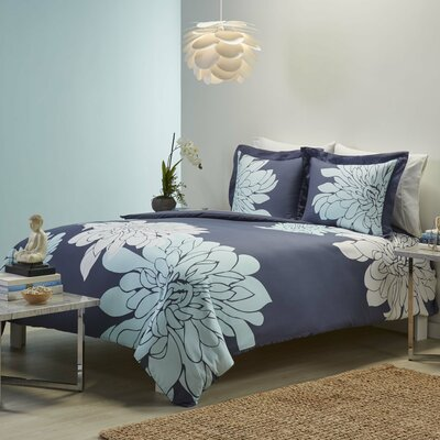 Ashley 3 Piece Duvet Set Size: King