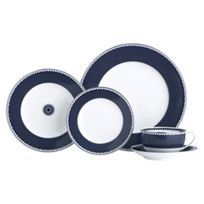 Thomas Obrien For Reed  Barton-marielle-indigo 13 Charger Plate