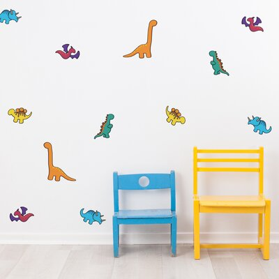 Mini Dinosaurs Wall Decals