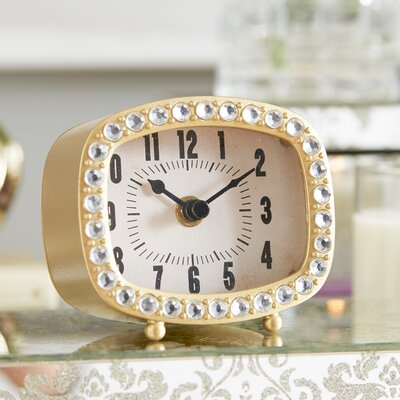 Sparkle Time Table Clock