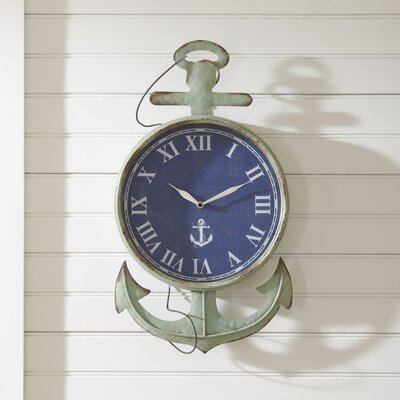 Nautical Time Wall Clock