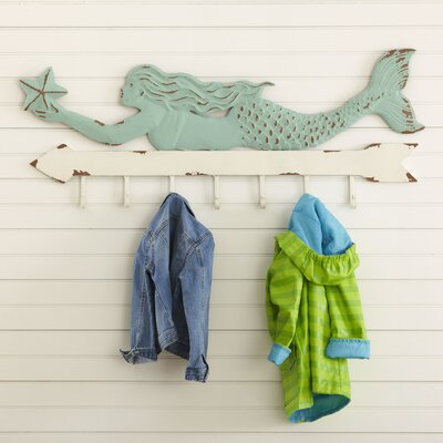 Magical Mermaid Coat Hooks