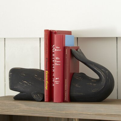 Whale Tales Bookends