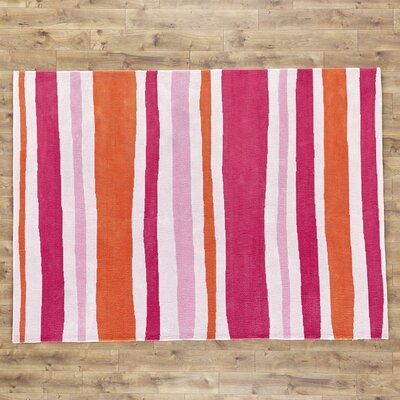 Candy Orange/Pink Area Rug Rug Size: 8' x 11'
