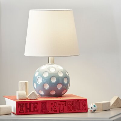 Circle Back 14.5'' Table Lamp Color: Blue / White