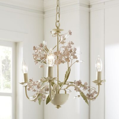 Aria 3-Light Candle-Style Chandelier