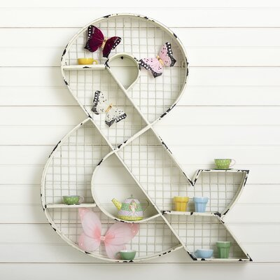 Ampersand Wall Cubby