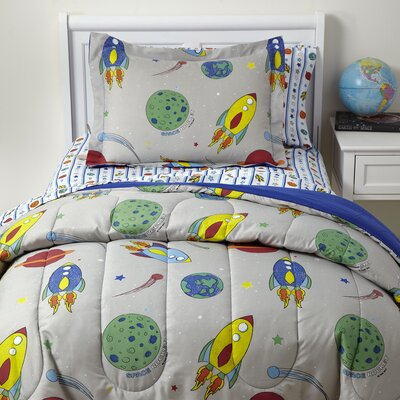 Liftoff 5-Piece Bedding Set