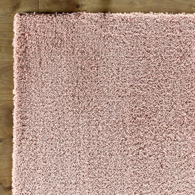 Shaggy Rose Rug
