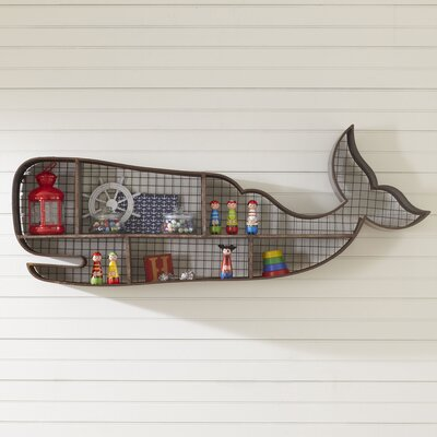 Whale Wall Cubby