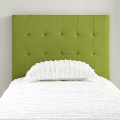 Samson Twin Upholstered Headboard Color: Green