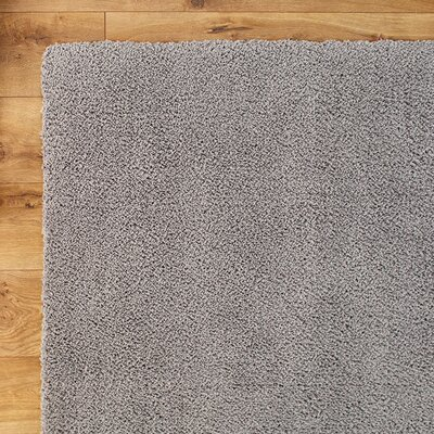 Shaggy Gray Rug