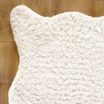 Birch Lane Kids Shear Softness White Rug