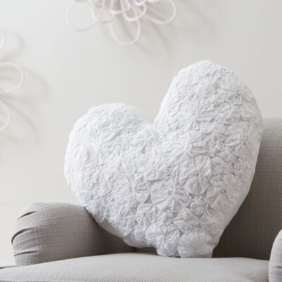 Textured Heart Pillow