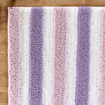 Stripe Out Purple Rug