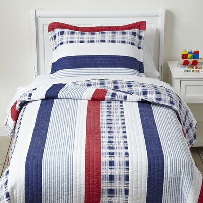 Pride-and-True Quilted Bedding Set Size: Full/Queen
