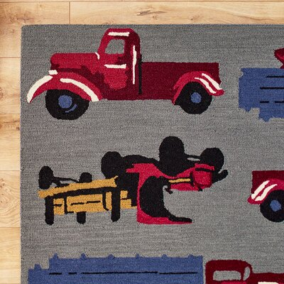 Old-Fashioned Farm Rug