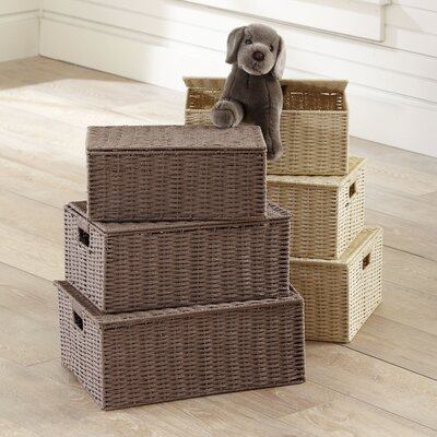 Undercover 3 Piece Lidded Basket Set