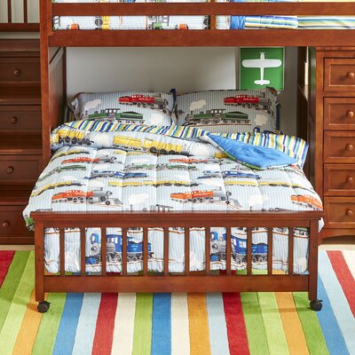 Bradley Loft Bed Size: Twin over Full