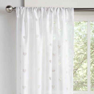 Love it Geometric Semi-Sheer Rod Pocket Curtain Panels