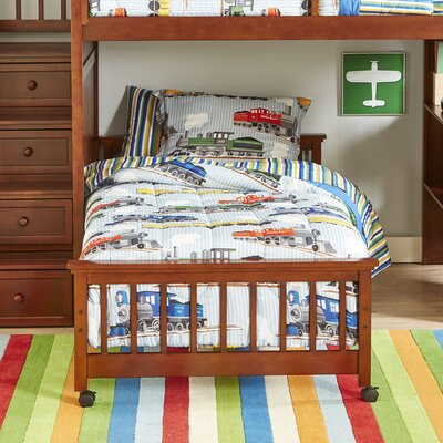 Bradley Loft Bed Size: Twin over Twin