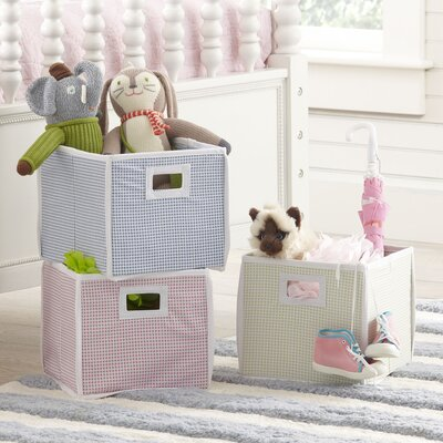 Gingham Basic Storage Cube