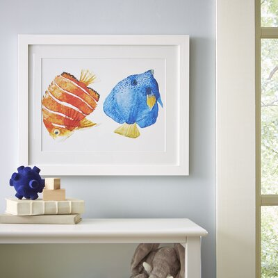 Underwater Duo Framed Print