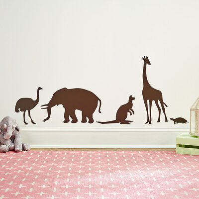 Zoo Crew Wall Decal Set