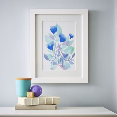 Watercolor Florals Framed Print I