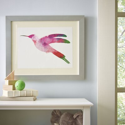 Watercolor Hummingbird Framed Print II