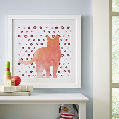 Here Kitty Framed Print