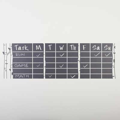 Tasks & To-Do Chalkboard Wall Decal