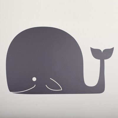 Whale Mail Chalkboard Wall Decal